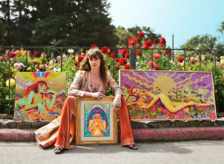 Meet Gillian Keller - Female Artist Interview