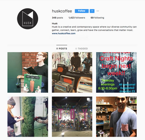 Husk Coffee Instagram, London best coffeeshop to work from for freelancers, We Are F Blog