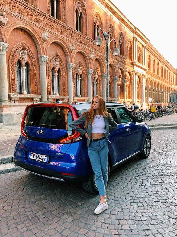 Sofia x Kia Italia
