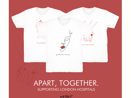 APART, TOGETHER TO HELP THE NHS