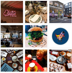 Barber and Parlour  Instagram, London best coffeeshop to work from for freelancers, We Are F Blog