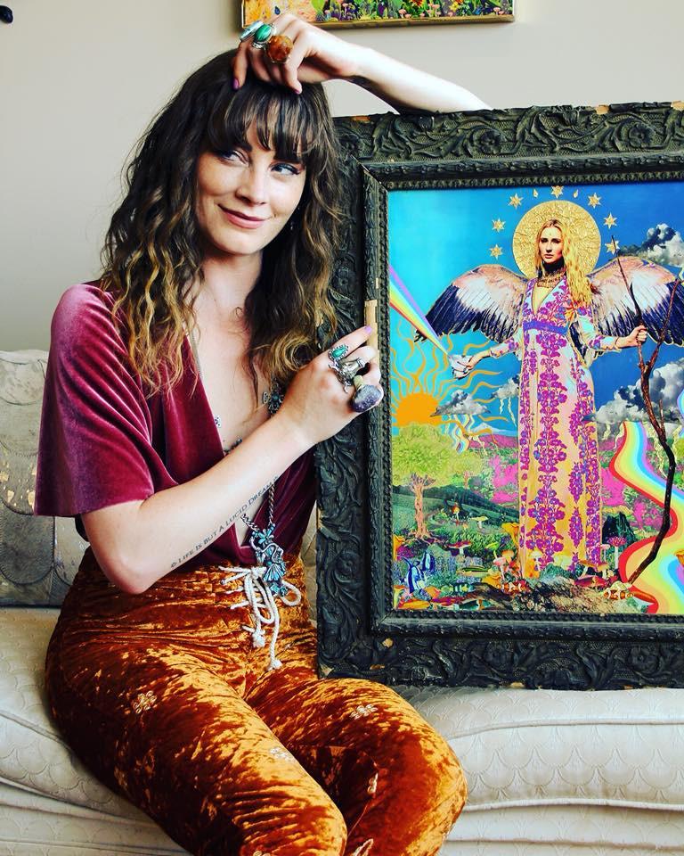 Gillian Keller -  painter and mixed media artist
