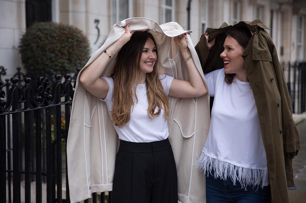 Alice Mackintosh and Rosie Speight, founders of Equi