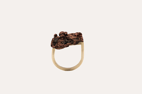 Raw Copper Ring
