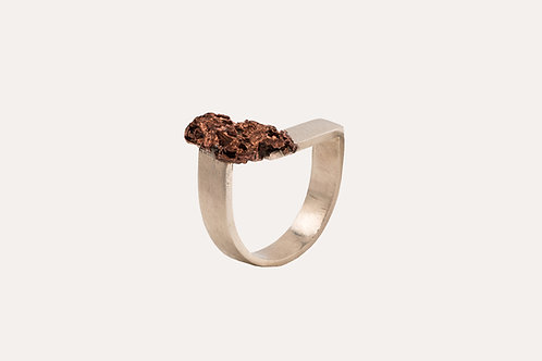 Raw Copper Ring no.2