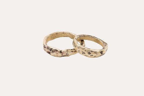 Raw Wedding Rings
