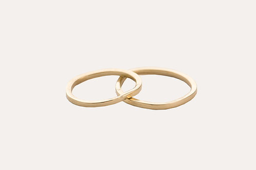 Minimalist Wedding Rings