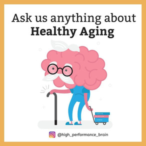 Ask us anything about Healthy Aging