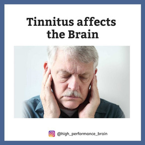 Tinnitus affects the Brain