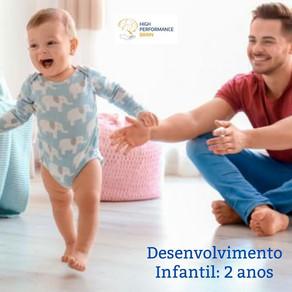 Desenvolvimento infantil: 2 anos