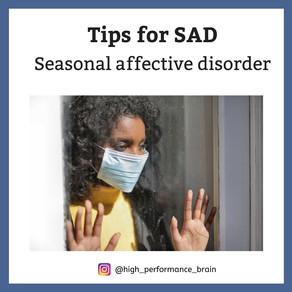 Tips for SAD