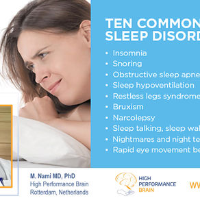 10 Common Sleep Disorders