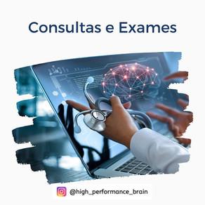 Consultas e Exames