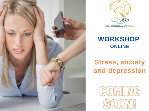 Workshop Stress anxiety and depression