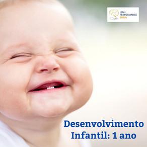 Desenvolvimento Infantil: 1 ano