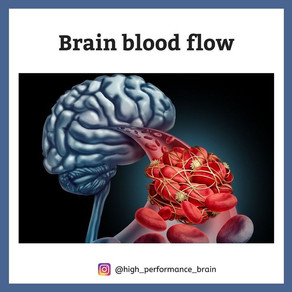Brain blood flow
