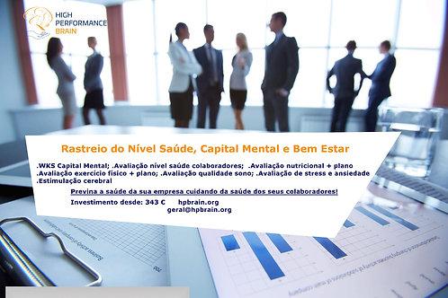 Rastreio do Nível de Saúde, Capital Mental e Bem-Estar