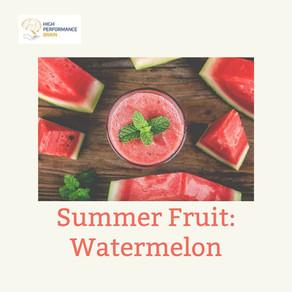 Fruta de Verão: Melancia