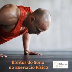 Efeito do Sono no Exercício