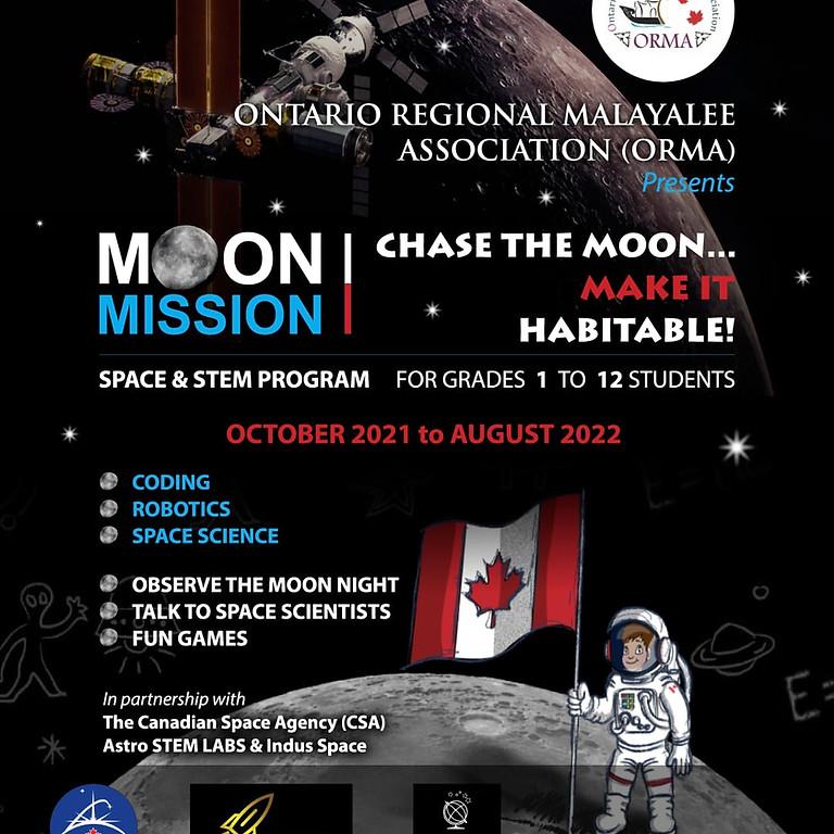 ORMA - Chase the Moon.. Make it Habitable!
