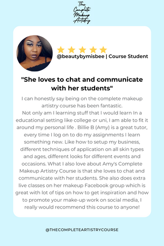 @beautybymisbee | Course Student