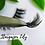 Thumbnail: Eco Friendly cotton FALSE LASH GIFT SET no plastic REUSABLE (15+ wears)