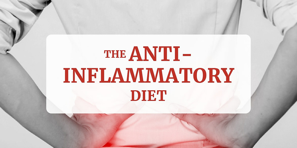 The Anti-Inflammatory Diet (In-Person and Live On Facebook)