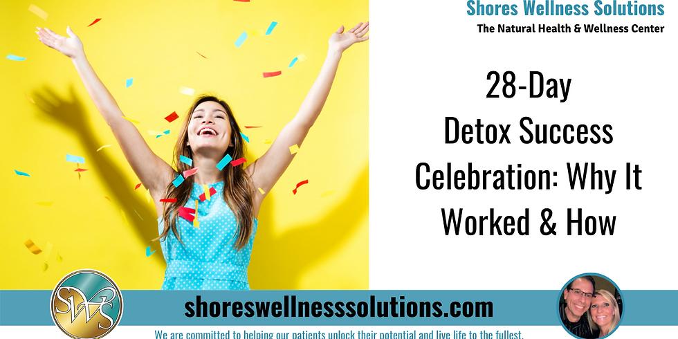 (MI) 28-Day Detox Success Celebration: Why It Worked & How