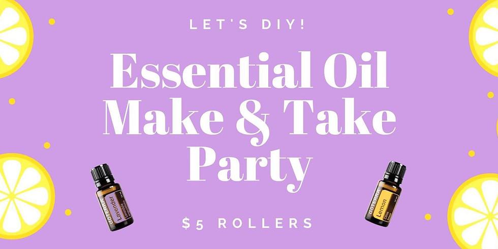 (MI) Essential Oil Make & Take Party