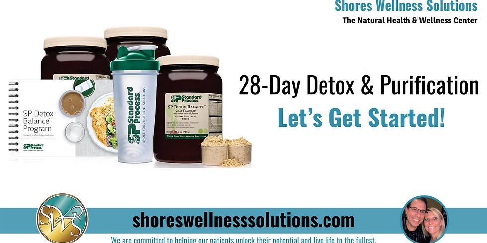 (NJ) 28-Day Detox & Purification, Let's Get Started!