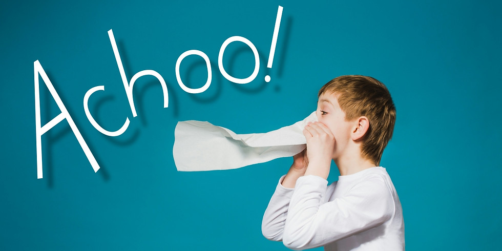 Achoo! An All Natural way to control Allergies. (In-Person and Live On Facebook)