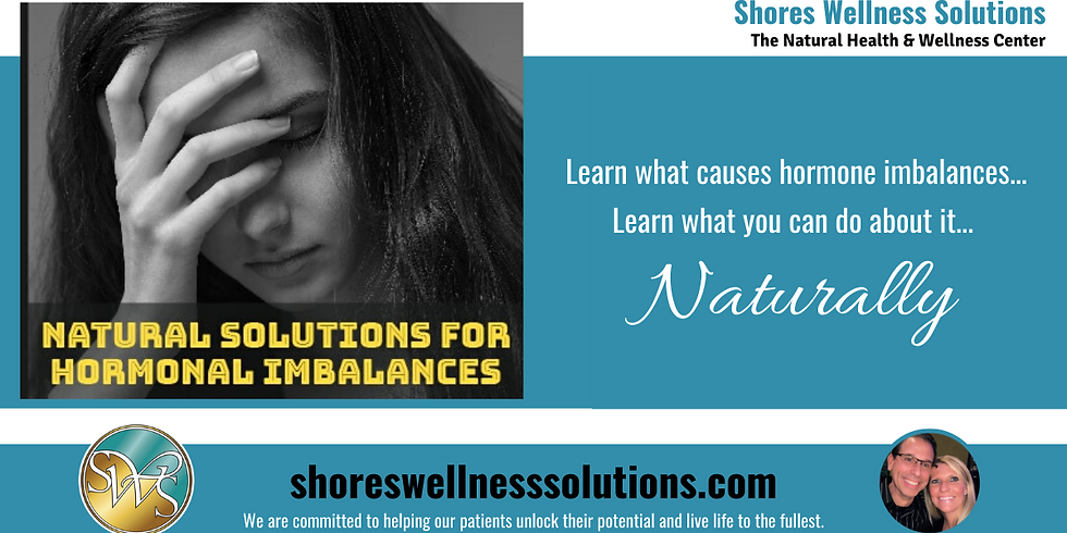 (MI) Natural Solutions for Hormone Imbalances