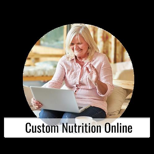 Custom Nutrition Online