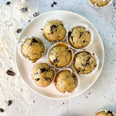 muffins pépites de chocolat sain