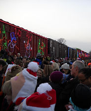 canadian pacific holiday train in loretto minnesota