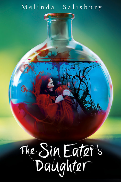 The Sin Eater's Daughter, UK paperback, Signed
