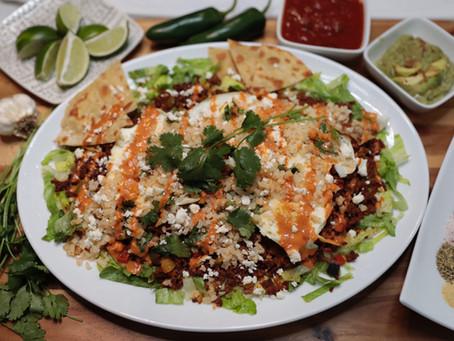 Cilantro Lime Huevos Rancheros w/ a Twist