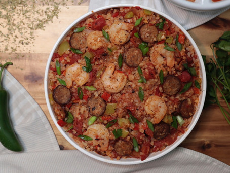 Savory Shrimp and Sausage Jambalaya
