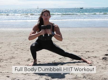 Full Body Dumbbell HIIT Workout