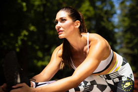 Athletic Hurdle Stretch