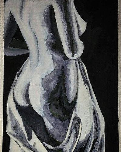"""Monochromatic Nude"""