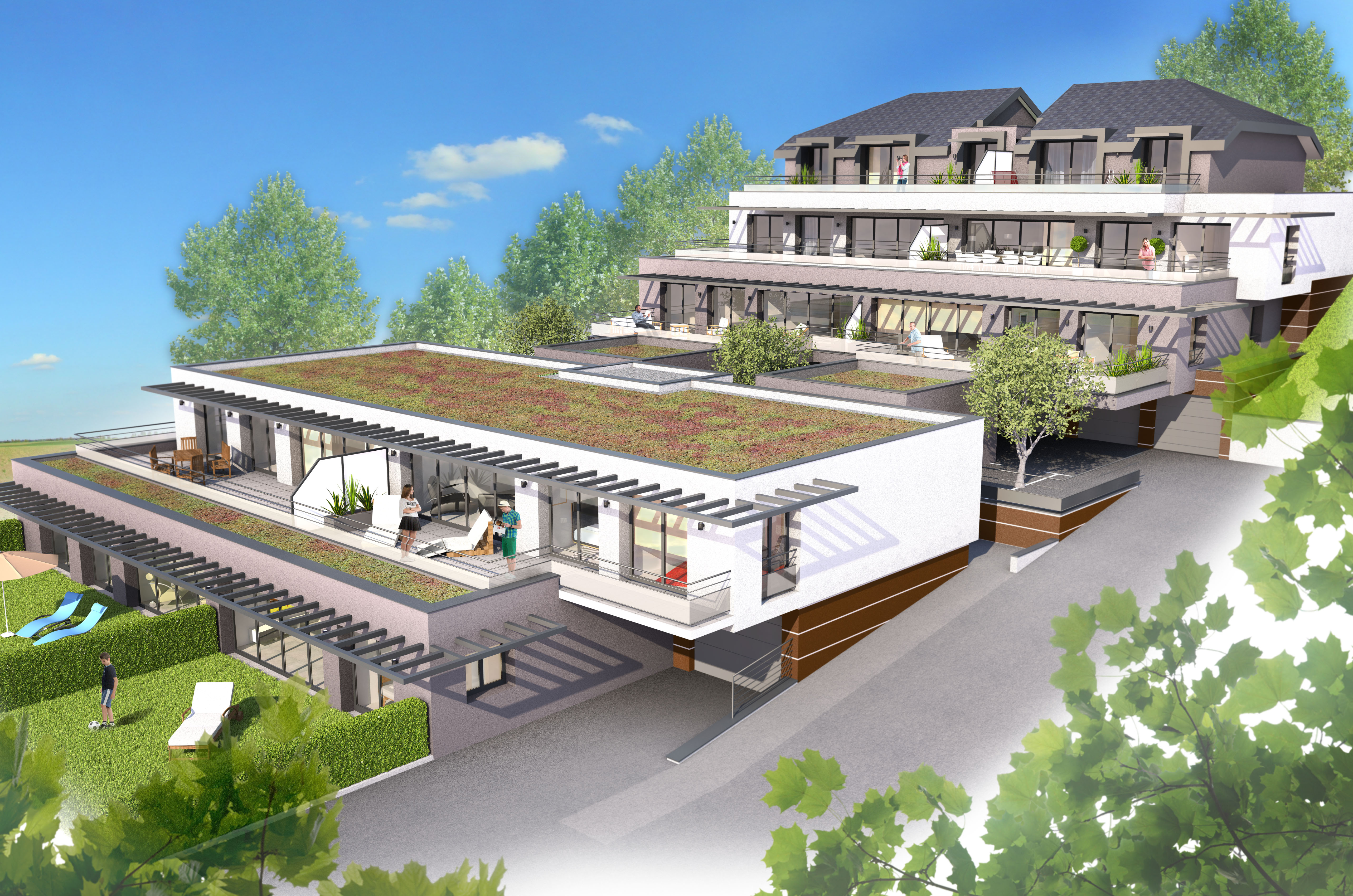 Projet immobilier neuf aix les bains for Projet appartement neuf