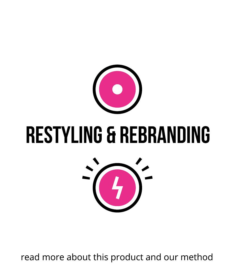 restyling & rebranding