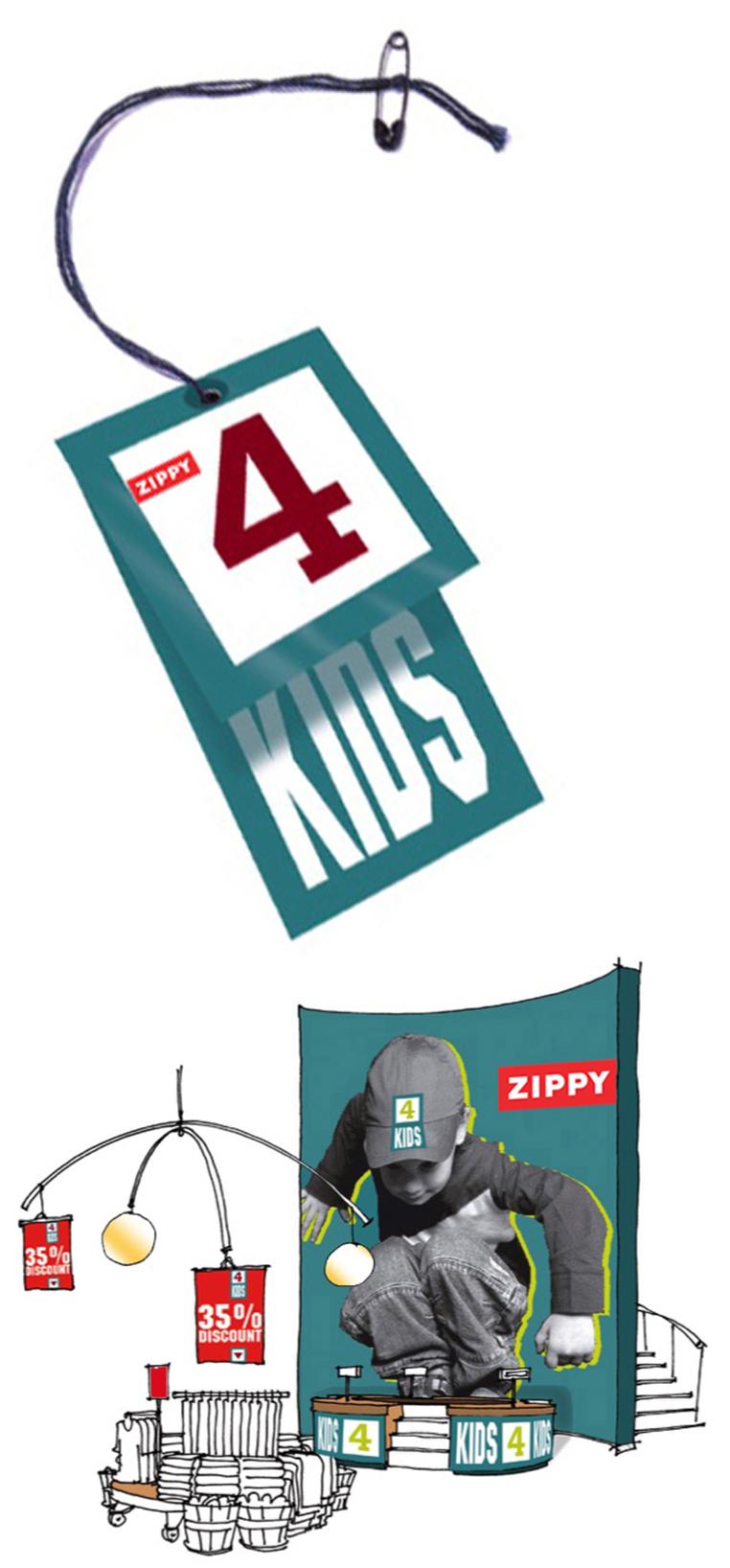 ZIPPY kidstore concept