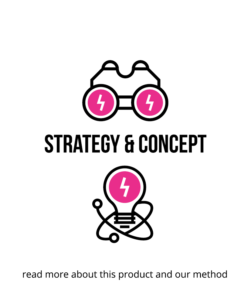 STRATEGY & CONCEPT