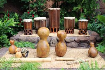Hawaiian musical instruments