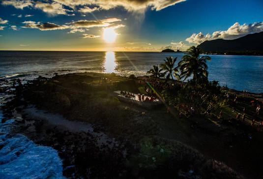 Ku'ilioloa Heiau, Island of O'ahu, Wai'anae, Hawai'i