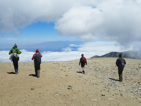 Past Hikes: Mount Baldy via Backbone Trail