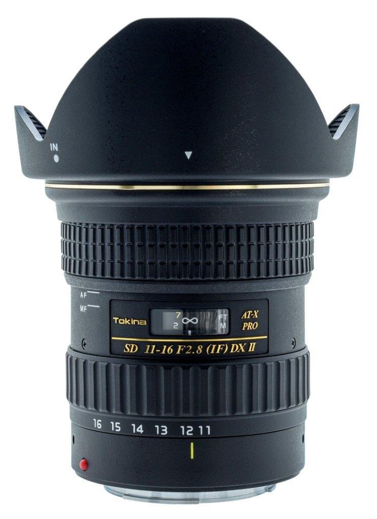 Tokina 11-16mm F2.8 Wide Angle Lens