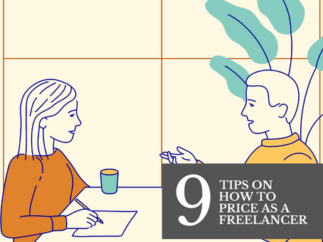9 Tips On How To Price Your Creative Work